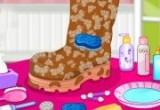 العاب تنظيف الحذاء