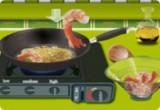 العاب طبخ  طبق الروبيان البحري