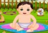 لعبة استحمام الطفل الوسيم
