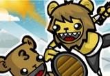 لعبة قتال الدببة البربرية