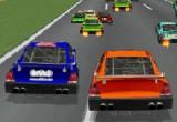 لعبة سيارات سباق امريكية