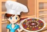لعبة طبخ شوكولاتة البيتزا الجديدة