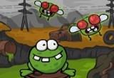 مغامرات الضفدع اكل الذباب