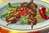 لعبة أسرع طريقة لشوي اللحم