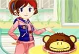 لعبة طبخ الكيك بالشوكولاتة مع سارة