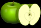 لعبة تركيب التفاحة الخضراء