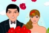 لعبة تلبيس العروسين