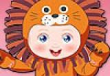 لعبة تلبيس الاطفال  ملابس حيوانات