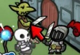 لعبة الوحش و القلعة المحصنة