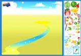 لعبة ديكور بستان الفواكة