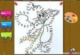 لعبة توصيل النقاط والتلوين
