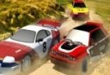 لعبة سيارة الرالي ومهارات القياده