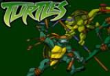 لعبة أبطال النينجا ومواجهة الاعداء