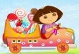 لعبة سيارة نقل حلويات دورا