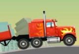 لعبة الشاحنة والبضاعة