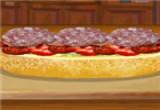 لعبة طبخ السندوتشات الايطالي