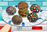 لعبة تحضير وتزين كرات الشوكولاتة