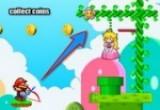 لعبة ماريو و ضرب السهام
