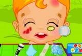 لعبة اسعاف الطفل المصاب