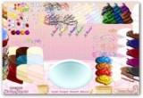 لعبة ترتيب شكل الحلويات