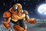 لعبة الدفاع عن أرض القمر