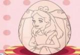 لعبة أرسم على البيض