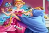لعبة الساحرة الطيبة خياطة فستان سندريلا