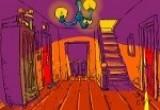لعبة الهرب من البيت المخيف