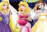 لعبة اميرات ديزني الحوامل