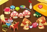 لعبة بيت الفطر للاطفال الصغار