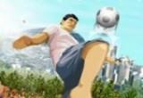 لعبة تسديد الكرة العالية