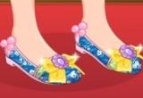لعبة تصميم حذاء الاميرة مولان