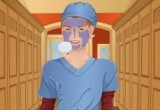 العاب تنظيف بشرة الطبيبة