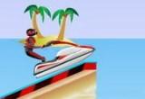 لعبة سباق الدباب البحري