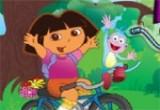 العاب دراجة دورا وموزو