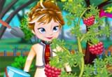 لعبة زراعة حديقة الاميرة آنا