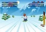 لعبة مسابقة التزلج