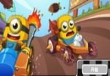 العاب سباق المخلوقات الصفراء
