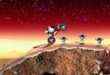 العاب سباق في المريخ