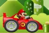 لعبة سيارة ماريو السريعة