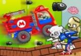 لعبة شاحنة ماريو و قتل الزومبي
