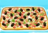 العاب تحضير البيتزا بالزيتون