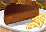 العاب طبخ كيكة البرتقال بالشوكولاتة