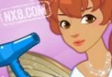 لعبة قص شعر الحورية الجميلة