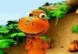 العاب مغامرات قطار الديناصورات