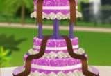 لعبة تورتة الزفاف المزهلة