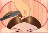 لعبة أفضل طرق لف الشعر