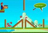 لعبة ماريو و صيد الفطر