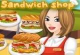 لعبة مطعم بيع السندويشات الشهير