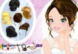 لعبة استعداد الفتاة للاحتفال بزفافها